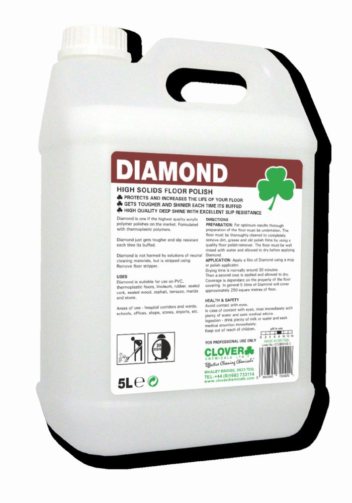 Clover Diamond Acrylic Floor Polish 25